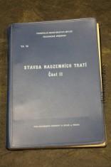 náhled knihy - Stavba nadzemních tratí. Část II.