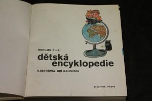 náhled knihy - Dětská encyklopedie - převazba