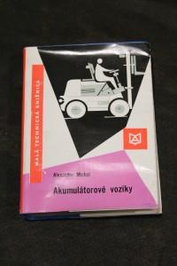 náhled knihy - Akumulátorové vozíky