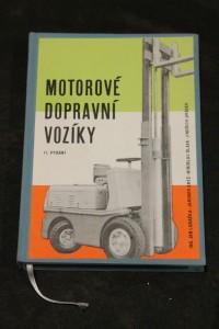 náhled knihy - Motorové dopravní vozíky