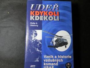 náhled knihy - Udeř kdykoli kdekoli : vznik a historie vzdušných komand USAF