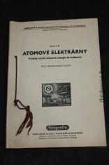 náhled knihy - Atomové elektrárny. Výhledy využití atomové energie do budoucna.