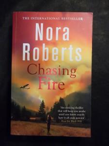 náhled knihy - Chasing Fire (česky: Zahráváš si s ohněm)