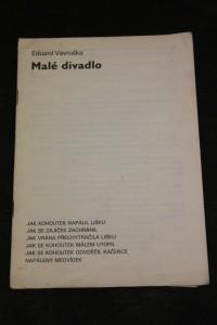 náhled knihy - Malé divadlo