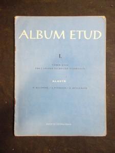 náhled knihy - Album etud. I. výběr etud pro 2. stupeň technické vyspělosti : klavír