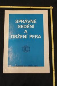 náhled knihy - Právné sedění a držení pera