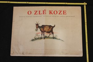 náhled knihy - Nástěnné obrazy: O zlé koze