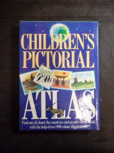 náhled knihy - Children's pictorial atlas