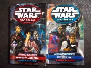 náhled knihy - Star Wars: Nový řád Jedi - Zatmění síly + Hrdinova zkouška (2 tituly)