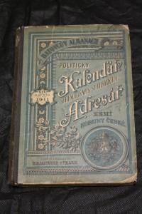 náhled knihy - Batovcův almanach: Politický Kalendář, Adresář zemí Koruny české, na rok 1911
