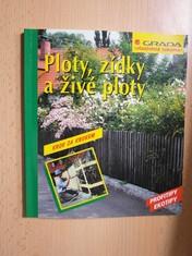 náhled knihy - Ploty, zídky a živé ploty