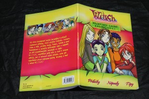 náhled knihy - W.I.T.C.H. Nezbytník každé čarodejky č. 1, 2, 3, 4.