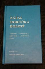náhled knihy - Zápal, Horúčka, Bolesť.
