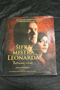 náhled knihy - Šifra mistra Leonarda : ilustrovaný scénář : ze zákulisí natáčení velkofilmu