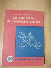 náhled knihy - Základní měření na elektrických strojích
