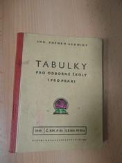 náhled knihy - Tabulky - pro odborné školy i pro praxi