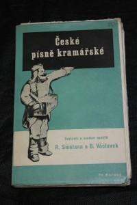 náhled knihy - České písně kramářské