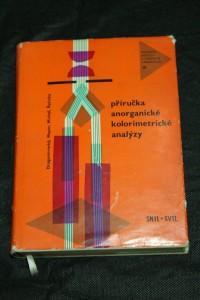 náhled knihy - Příručka anorganické kolorimetrické analýzy : Určeno prac. v analytických laboratořích prům. i výzkum. zaměření