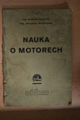 náhled knihy - Nauka o motorech