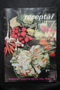 náhled knihy - Receptář správné výživy.