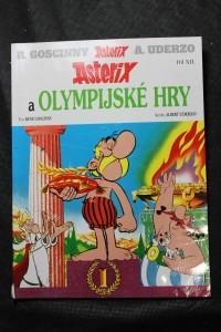náhled knihy - Asterix a Olympijské hry. Díl XII.