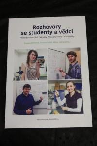 náhled knihy - Rozhovory se studenty a vědci Přírodovědecké fakulty Masarykovy univerzity
