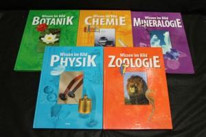 náhled knihy - Wissen im Bild : Botanik, Chemie, Mineralogie, Physik, Zoologie.