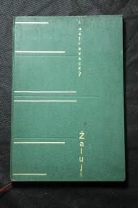 náhled knihy - Žaluji ... : Básně
