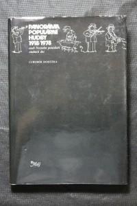 náhled knihy - Panoráma populární hudby 1918 / 1978