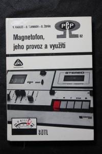 náhled knihy - Magnetofon, jeho provoz a využití