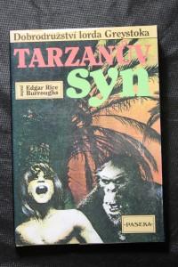 náhled knihy - Son of Tarzan. Česky Tarzanův syn