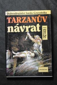náhled knihy - Return of Tarzan. Česky Tarzanův návrat