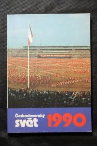 náhled knihy - Československý svět. Kalendář 1990