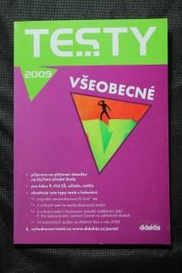 náhled knihy - Testy 2009 : všeobecné