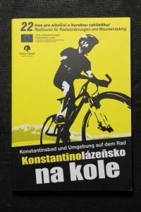 náhled knihy - Konstantinolázeňsko na kole. Konstantinsbad und Umgebung auf dem Rad. 22 tras pro silniční a horskou cyklistiku.