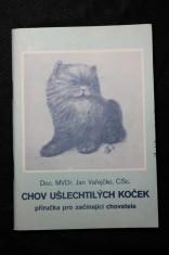 náhled knihy - Chov ušlechtilých koček. Příručka pro začínající chovatele.