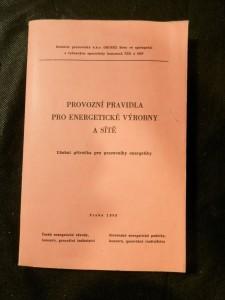 náhled knihy - Provozní pravidla pro energetické výrobny a sítě : Učební příručka pro pracovníky energetiky