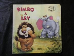 náhled knihy - Bimbo a lev