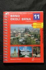 náhled knihy - Brno, okolí Brna : s mapovým atlasem