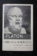 náhled knihy - Euthyfron ; Obrana Sokrata ; Kriton