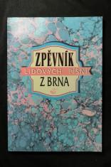 náhled knihy - Zpěvník lidových písní z Brna