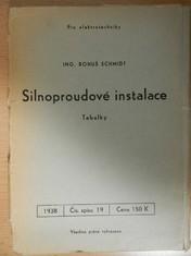 náhled knihy - Silnoproudé instalace : Tabulky