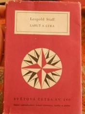 náhled knihy - Labuť a lyra : výbor z veršů 1901-1957