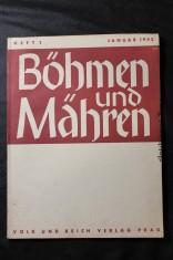 náhled knihy - Böhmen und Mähren. Januar 1942. Heft 1.