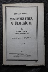 náhled knihy - Matematika v úlohách. Díl II. Geometrie