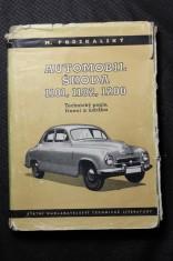náhled knihy - Automobil Škoda 1101, 1102, 1200 : Technický popis, řízení a údržba