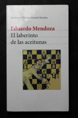 náhled knihy - El laberinto de las aceitunas