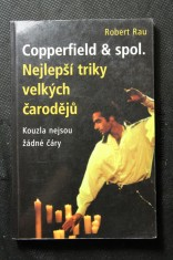 náhled knihy - Copperfield  & spol. : nejlepší triky velkých čarodějů : kouzla nejsou žádné čáry