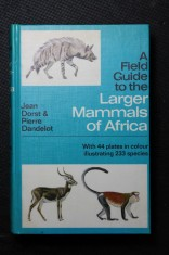 náhled knihy - A Field Guide to the Larger Mammals of Africa
