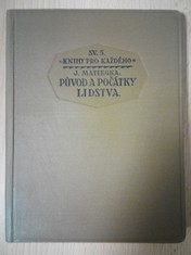 náhled knihy - Původ a počátky lidtsva